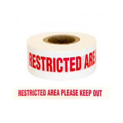 Restricted Area Tape