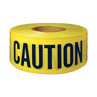 Caution Tape Non Adhesive 75mm x 300M
