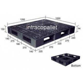 Plastic Export Pallet - Double Deck 1200 x 1000 x 5