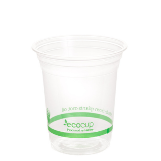 Clear EcoCup Green 420ml (20's)