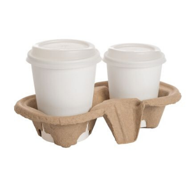 2 Cup Carrier Tray (20's)