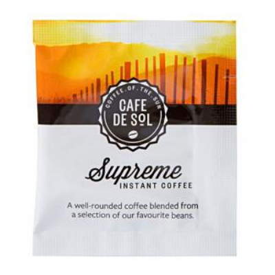 Cafe de Sol Supreme Soluble Coffee Sachets