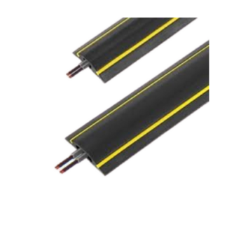 Office / Warehouse 1 Channel Cord Cover 9m (Hi - Vis)