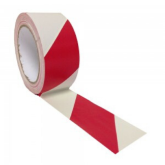 Floor Marking Tape 48mm - red and white